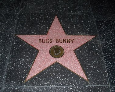 Bugs Bunny and Mickey Mouse were the first two animated characters to earn stars on Hollywood's Walk of Fame.