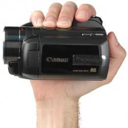 Very light camera. Almost scary.