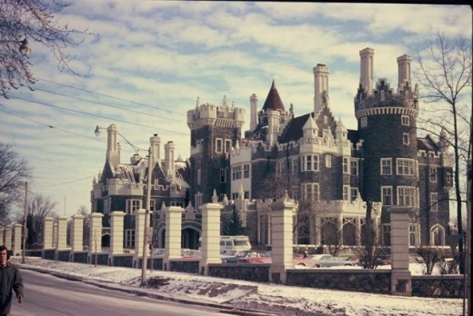Photo of Casa Loma taken in 1974 by me