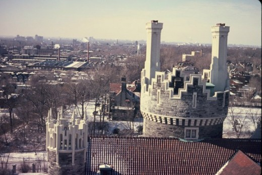 Casa Loma's Norman style tower