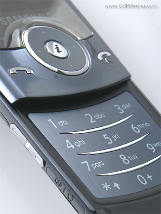 Samsung U600 pictures