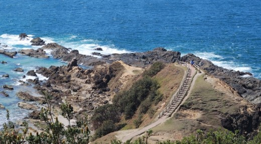 Main Australia's most easterly point