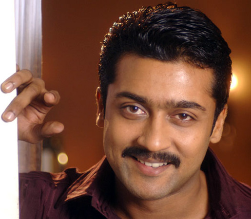Actor and television presenter Surya.