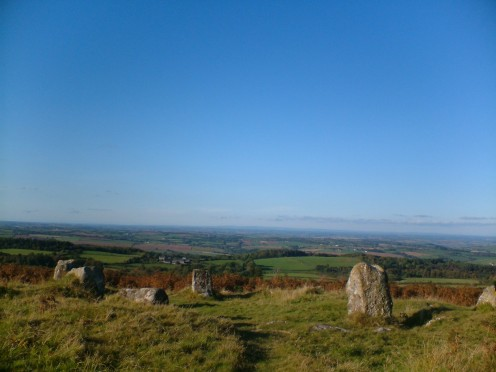 Cairn stone ring