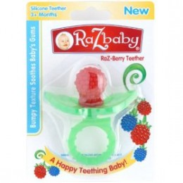 Baby teething ring with a difference