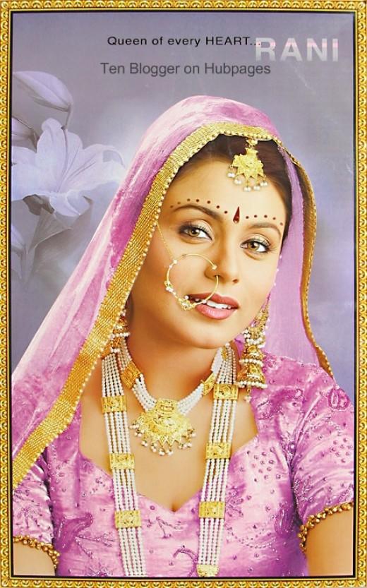 Rani Mukherjee - Bridal Dress