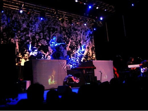 The Airborne Toxic Event In Concert