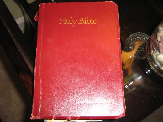 The Bible I've studied from for 20 years.