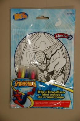 Spiderman mini-poster.