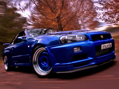 """A Nissan Skyline GTR...Sure, as my father a devout Buddhist would say, """"When you die, you cant' take it with you."""" Yeah, but I could just enjoy for a little while, right?"""