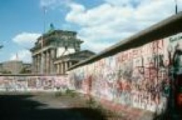 East part of Berlin Wall