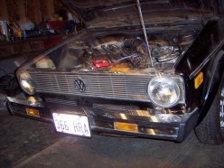 1980 VW Cabriolet Project Car (Powered Up) Part 2