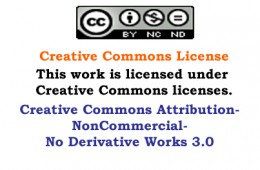 What this means is that I own this work, and you are free to enjoy it personally, but if you want to use it commercially, then you need my permission, in writing
