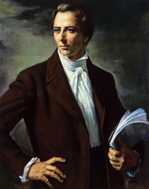 Joseph Smith, prophet of The Church of Jesus Christ of Latter Day Saints.