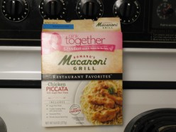 Chicken Piccata Boxed Dinner from Romano's Macaroni Grill