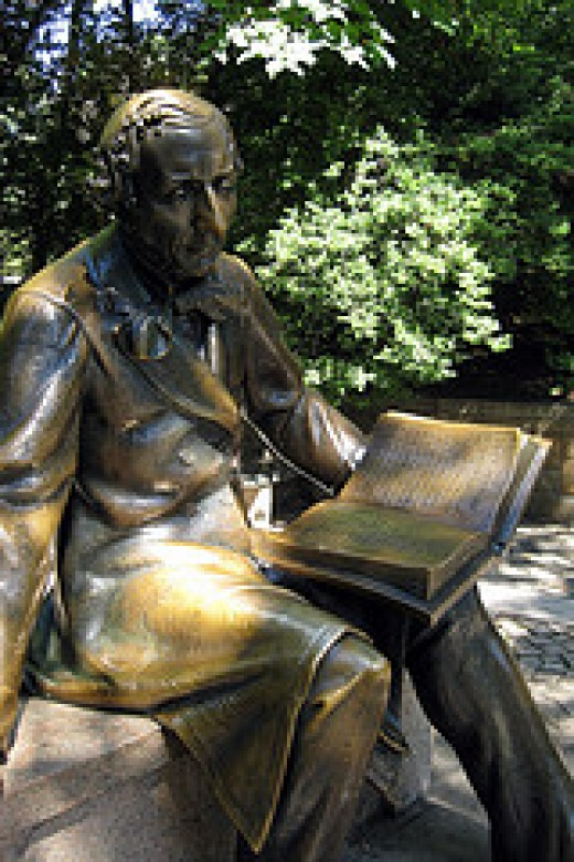 Hans Christian Andersen by wallyg on flickr