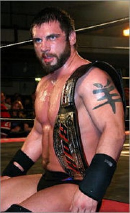 Current Ring of Honor World Champion (He's also their first 2 time title holder)