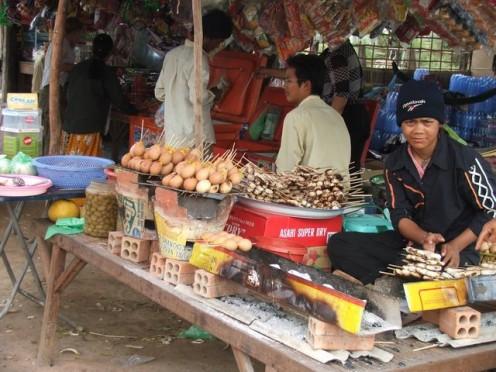 Roadside Stall, Cambodia