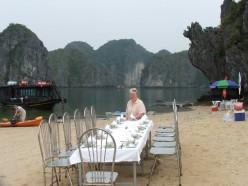 Picnic, Hailong Bay, Vietnam