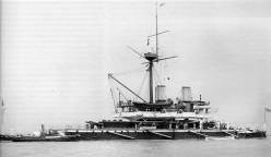 HMS Devestation - an example of a pre-dreadnought battleship