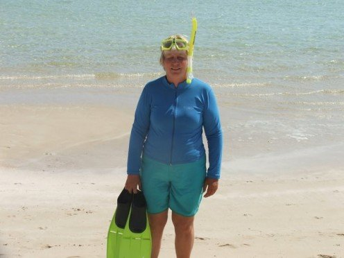 Sensible beach attire: my version