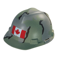 Camo Canadian Hard Hat