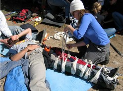 The Steps to Accident Handling: Wilderness First Aid