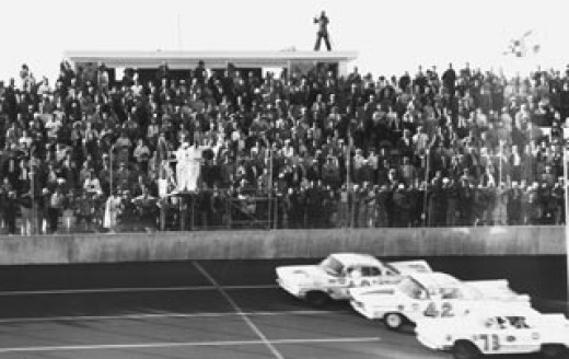 The Finish of the 1959 Daytona 500