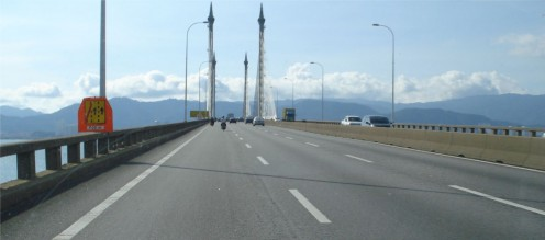 Penang Bridge - Cable Stay Concrete Girder