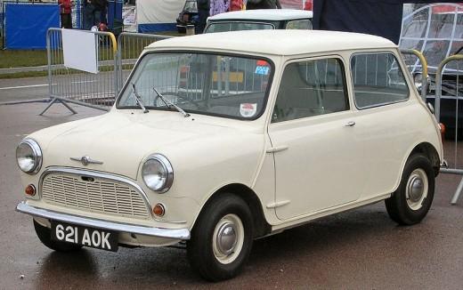 A 1959 Mini