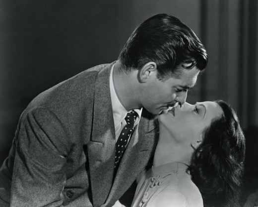 Hedy getting to know Clark Gable