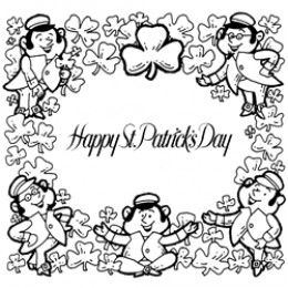fado chicago st patricks day coloring pages | Free St Patrick's Day Crafts, Coloring Pages and Trivia