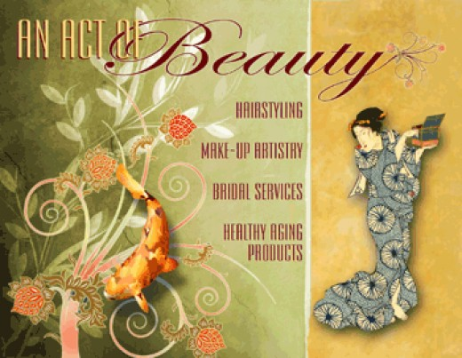 Website Design for An Act of Beauty by Graphic Girlz