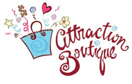Logo Design and Illustration for Attraction Boutique by Graphic Girlz