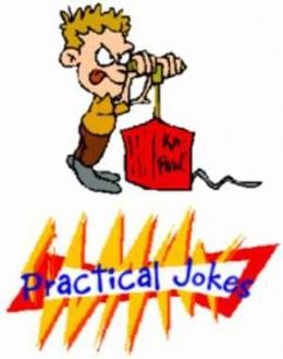 Five Messy Practical Jokes
