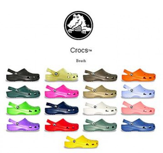 Croc shoes are the bane of the fashionistas but the love of many ...