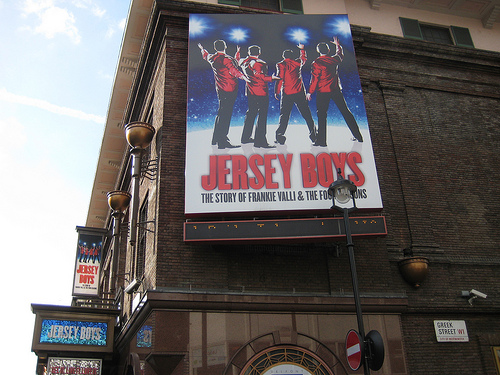 Jersey Boys at the Prince Edward Theatre