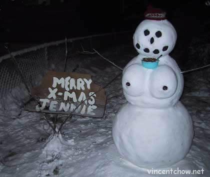 Snowwoman!