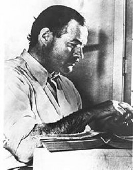 Hemingway (Photo Credit Wikipedia)