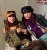 Danielle Monet (Inga) and Kelly Vitz (Trish)