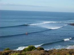 Surfs up! Bells Beach