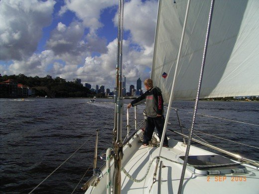 Sailing on the Swan River