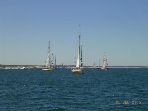 Annual Christmas Yacht Race