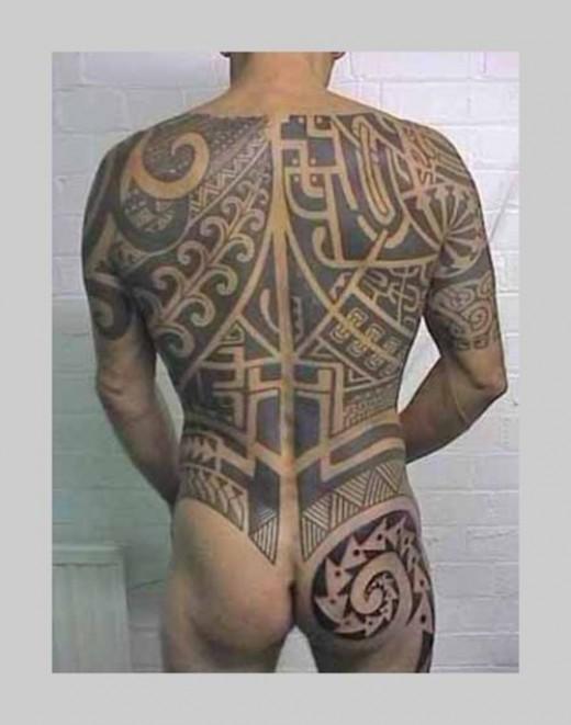 Maori tattoo design by latesha4u