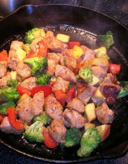 basic stir fry, Bob Ewing photo