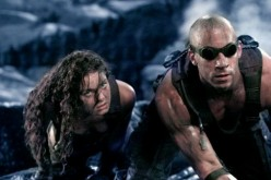 "Riddick and Kyra (aka Jack) trying to escape Crematoria. Scene from ""The Chronicles of Riddick: Unrated Director's Cut."""