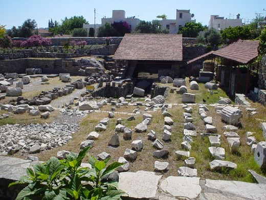Ruins of Mausoelum at Halicarnassus