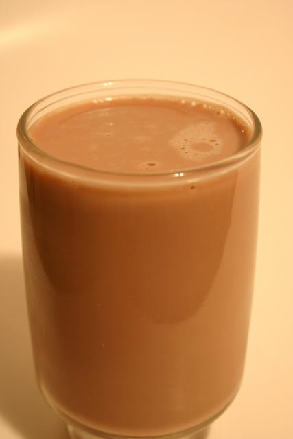 Low Carb Chocolate Shake