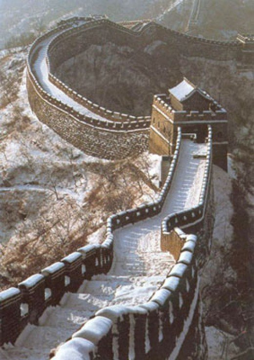 The great wall of China, Unparalled in the whole world
