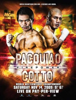 Manny Pacquiao vs Cotto